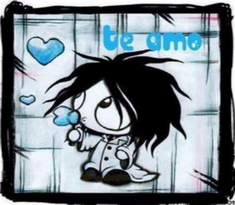 imagenes de corazones emos pz c de amor emo