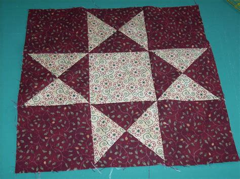 free pattern ohio star quilt block pat s quilt block tutorials ohio star block finished 12 quot