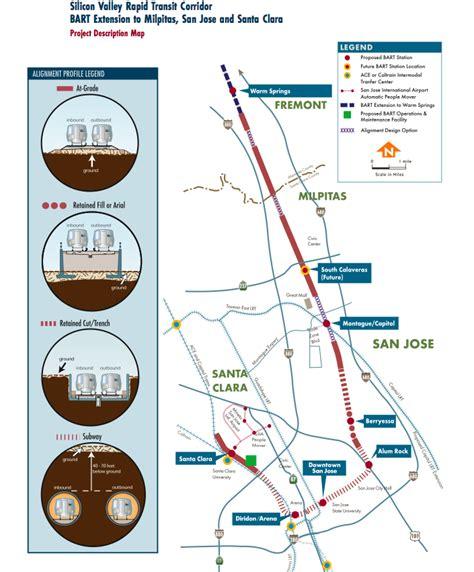 bart san jose extension map p9
