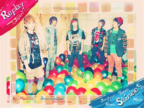 Japan Shinee Replay shinee replay japan wallpaper by meennizz