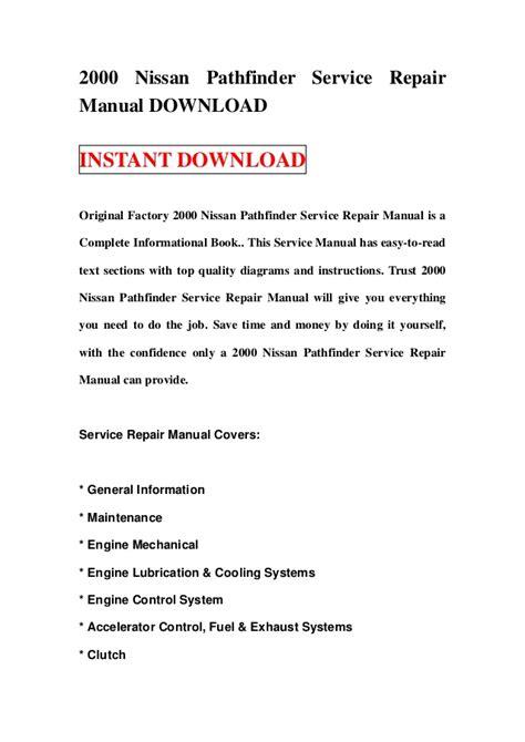 service manuals schematics 2000 nissan pathfinder head up display 2000 nissan pathfinder service repair manual download