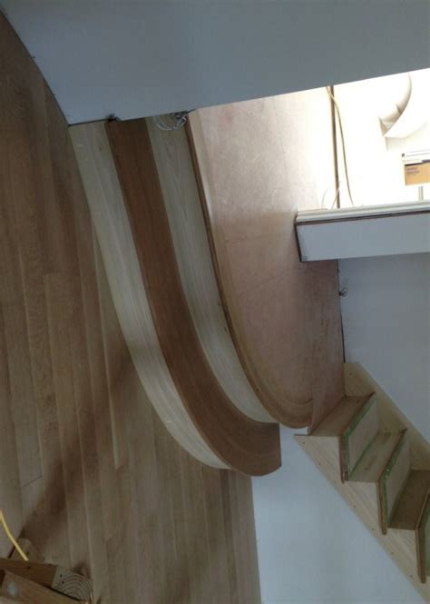 B.H. DAVIS COMPANY    Curved stair treads