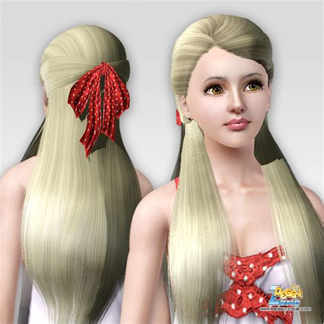 sims 3 custom content haie bow sims 3 custom content haie bow hair bow recolors sims 4