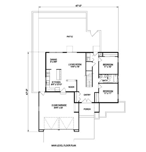 Southwestern Style House Plans Adobe Southwestern Style House Plan 3 Beds 2 5 Baths 1879 Sq Ft Plan 116 295