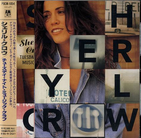 Sheryl Next Album Will Be About by Sheryl Tuesday Club Japanese Promo Cd