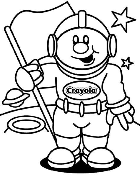 crayola free coloring pages just fun astronaut crayola com au