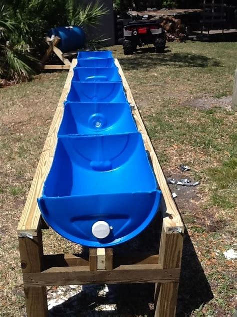 Diy Raised Planter by Raised Planter Stand From Plastic Drums Tutorial 1001