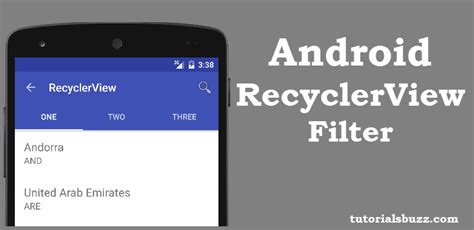android toolbar tutorial android filter recyclerview using searchview in toolbar tutorialsbuzz