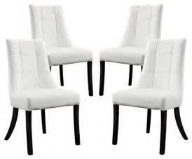 vinyl dining chair set