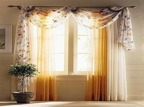 Living Room Valance Curtain Ideas How To Hang Curtains Drapes With Picture Ideas
