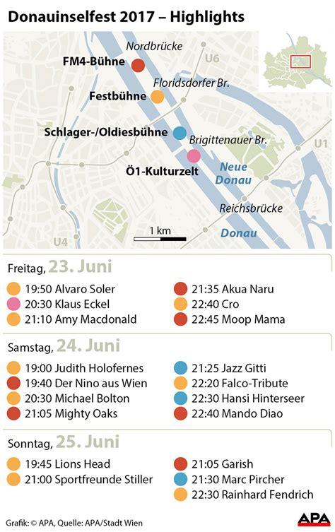 Donauinselfest Programm Donauinselfest Mit Michael Bolton Und Cro Wien Orf At