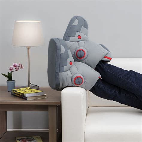 robot slippers with sound a pair of robot slippers with sound effects