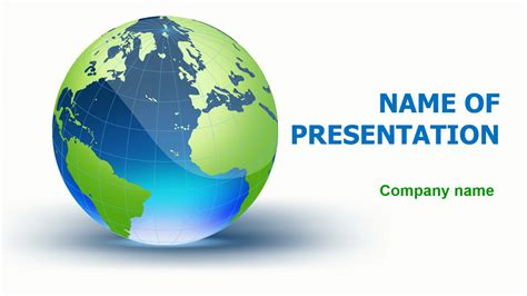 Download Free Wonderful Globe Powerpoint Template For Presentation Eureka Templates Globe Powerpoint Template