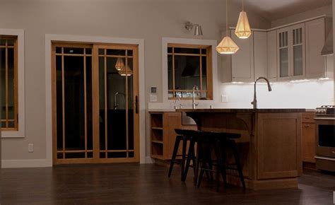 What Are Mission Style Cabinets Craftsman Arts Crafts Interior Doors Island