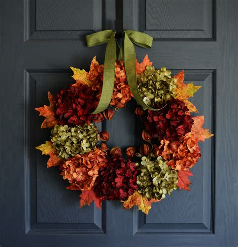 fall wreath autumn wreath front door wreaths outdoor