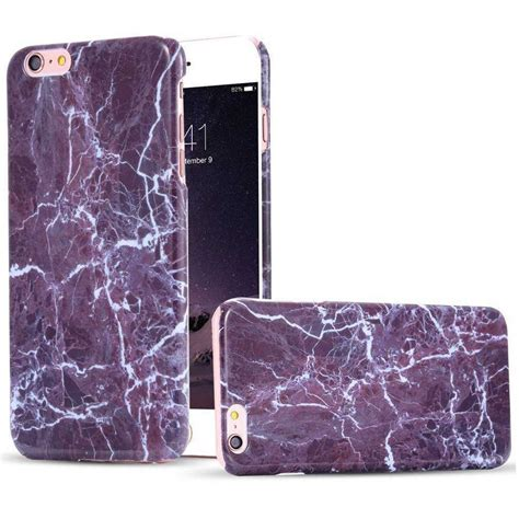 Iphone 6 6s Plus Marble Ganite Hardcase 1 marble painted glossy cool cover for apple