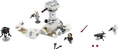Harga Diskon Lego Wars Hoth Attack 75138 new lego wars and marvel official 2016 set images the toyark news