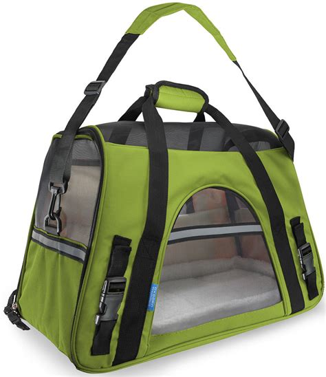 Cat Comfort Bag by Pet Carrier Soft Sided Large Cat Comfort Spinach
