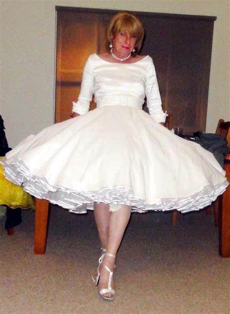 forced to wear dress petticoat diaper braids pinup elke pg7 petticoats pinterest transgender
