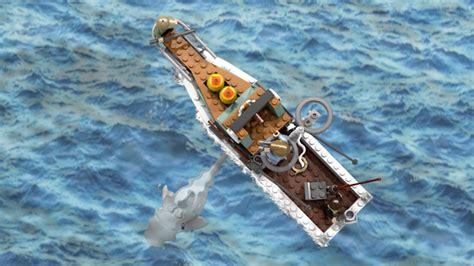jaws dragon boat lego jaws 5 heyuguys