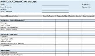 Report Builder Templates free construction project management templates in excel