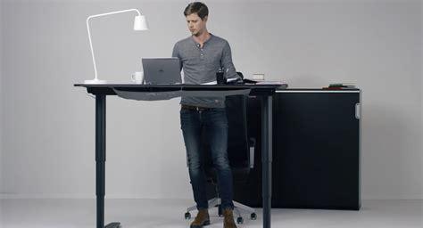 standing desk chair ikea adjustable standing desk ikea home furniture design