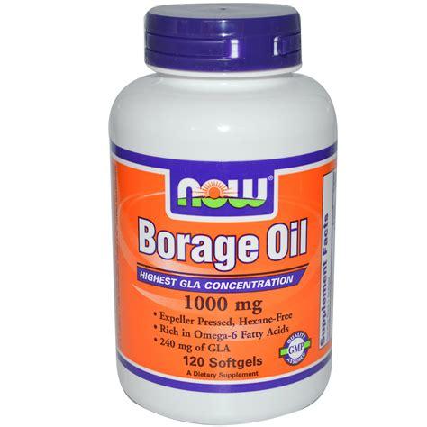 Borage Detox by Now Foods Borage 1000 Mg 120 Softgels Iherb