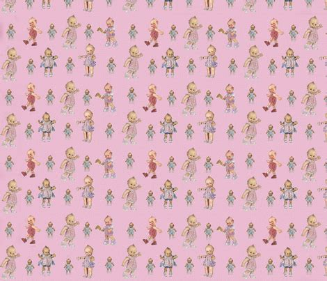 kewpie fabric kewpie kewties fabric purplehappytree spoonflower