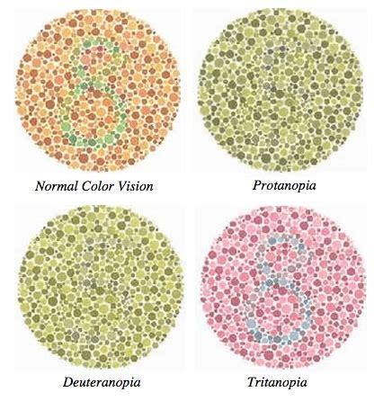 test daltonismo come vedono i daltonici e cos 232 il daltonismo