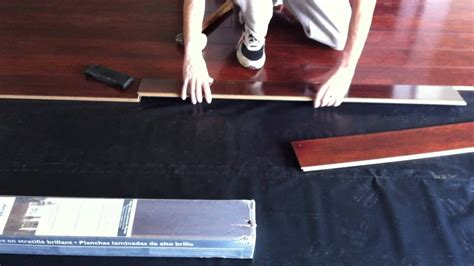How to install Armstrong High Gloss laminate flooring
