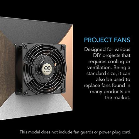muffin fan 120v ac infinity axial 1238w muffin fan 115v 120v ac 120mm x