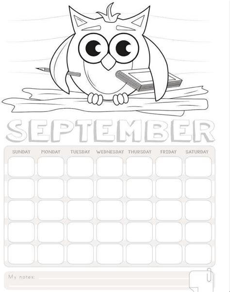 printable calendar in color 2017 calendar to color printables 7 171 preschool and