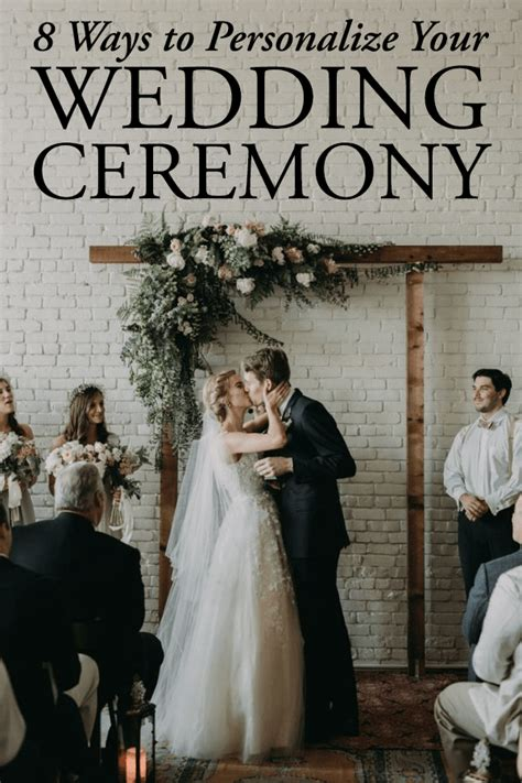 Personalizing Your Wedding Vows 8 ways to personalize your wedding ceremony junebug weddings