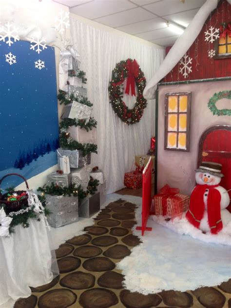 santa grotto cool ideas pinterest