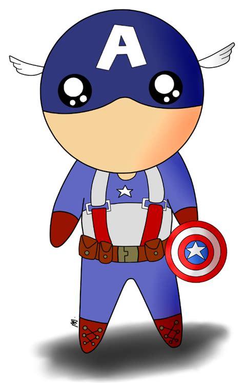 captain america chibi wallpaper captain america chibi by enairam11 on deviantart