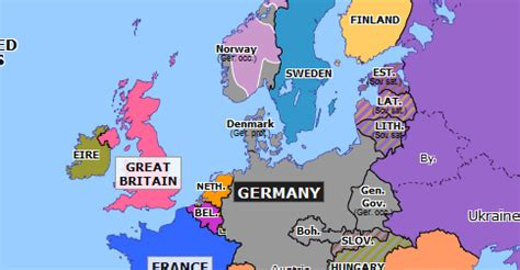 invasion of denmark and norway | historical atlas of