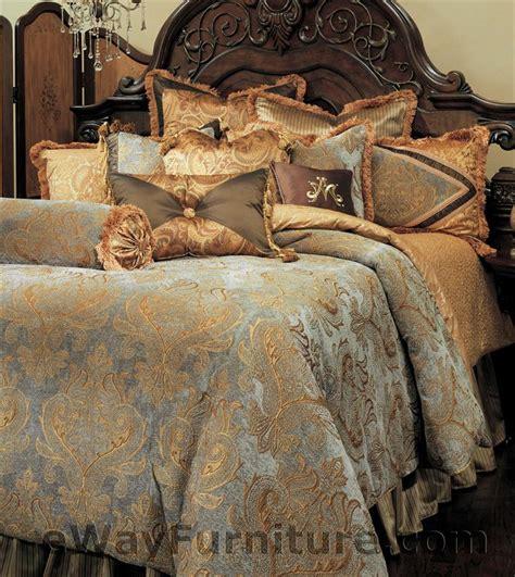 Aico Bedding Sets Elizabeth Bedding Set By Aico