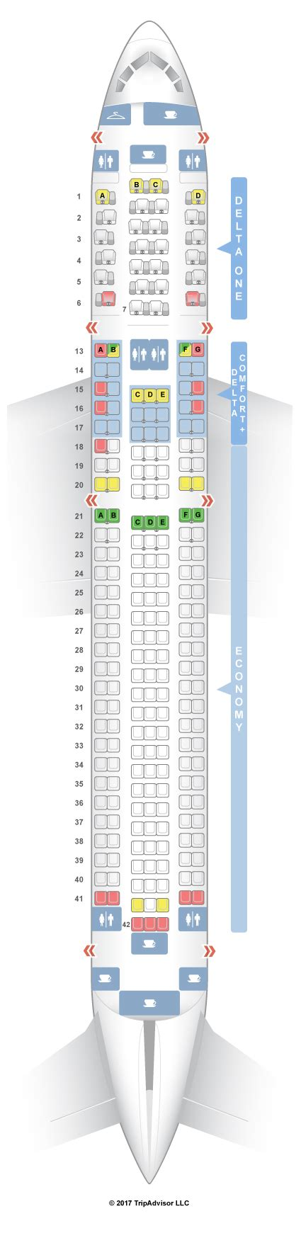 76w aircraft seating boeing 767 300 seating delta brokeasshome