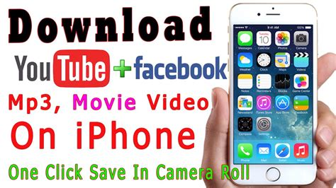 download mp3 from youtube on iphone how to download videos on iphone save in camera roll free