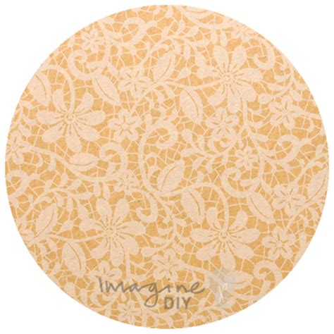 Patterned Craft Paper Uk - floral lace in kraft paper imagine diy