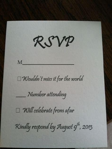 ideas for wedding rsvp cards 25 best ideas about wedding response cards on