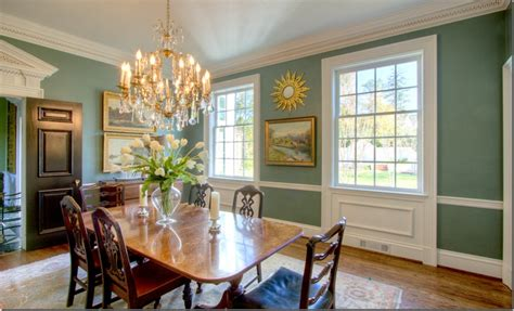 Dining Room With Chair Rail Paint Colors 17 Best Images About Dining Room Paint Ideas On