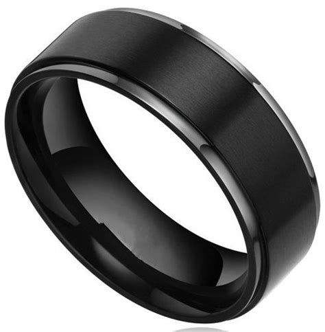 Black Wedding Bands by 1000 Ideas About Black Wedding Bands On