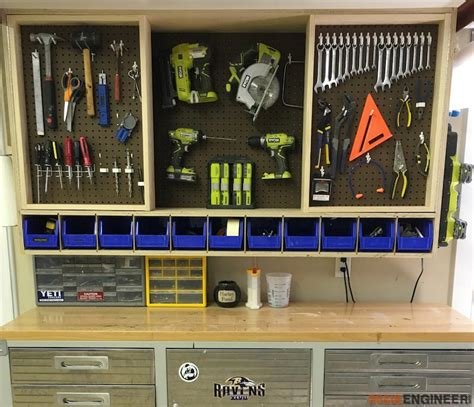 diy tool storage cabinet tool storage wall cabinet 187 rogue engineer