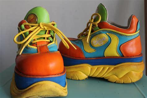 swear alternative 90 s club kid platform shoes