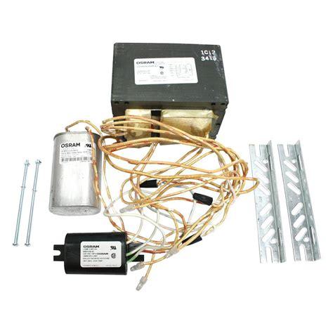 Lu Hid Original sylvania 47659 lu1000 super5 kit 120 208 240 277 480v high pressure sodium ballast kit