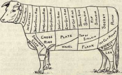 cow cuts of diagram dinner in a brisket eatmeetswest