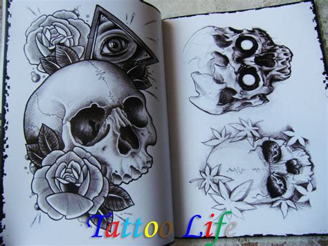 skull tattoo flash designs free flash images
