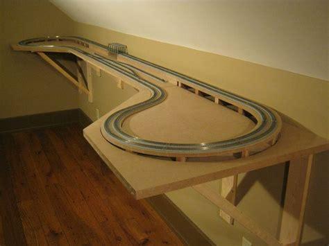 N Shelf Layout smith creek designs n scale model railroad shelf layout