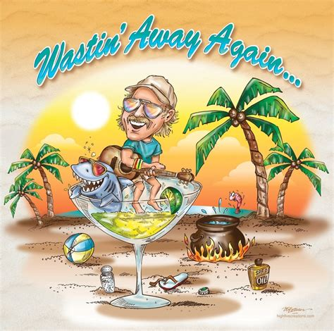 margaritaville clipart jimmy buffett print by highfivecreations on etsy for